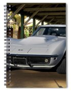 1969 Corvette Lt1 Coupe II Spiral Notebook