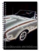 1969 Hurst Oldsmobile 455 Ho Electric Spiral Notebook