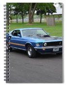 1969 Mach I Garland Spiral Notebook
