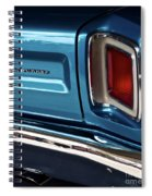1969 Plymouth Road Runner Spiral Notebook