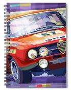 1970 Alfa Romeo Giulia Gt Spiral Notebook