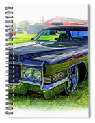 1970 Cadillac Deville - Vignette Spiral Notebook