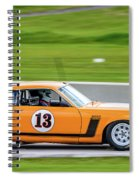 1970 Ford Mustang Spiral Notebook