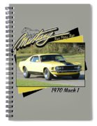 1970 Mach 1 Fellers Spiral Notebook