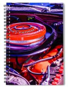 1970 Plymouth Road Runner Spiral Notebook
