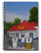 1970s Gas Station Spiral Notebook