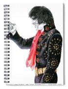 1971 Black Pinwheel Suit Spiral Notebook