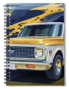 1971 Chevrolet C10 Cheyenne Fleetside 2wd Pickup Spiral Notebook