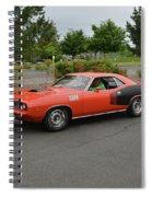 1971 Plymouth Cuda 440 Spiral Notebook