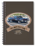 1972 Buick Gs455 Stage 1 Lundbom1972 Buick Gs455 Stage 1 Lundbom Spiral Notebook