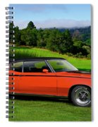 1972 Buick Gsx 455 Stage 1 Spiral Notebook