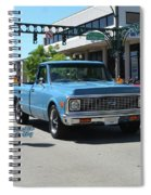 1972 Chevy C10 Bohall Spiral Notebook