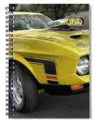 1972 Ford Mustang Mach 1 Spiral Notebook