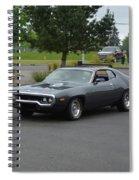1972 Plymouth Roadrunner Grow Spiral Notebook