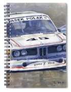 1974 Bmw 3.5 Csl  Spiral Notebook