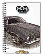 1976 Chevrolet Camato S S 396 Spiral Notebook