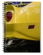 1976 Corvette Stingray Taillights Spiral Notebook