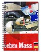 1976 Jarama Marlboro F1 Team Mclaren Jochen Mass Spiral Notebook