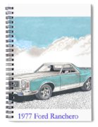 1977 Ford Ranchero Spiral Notebook