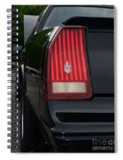 1988 Monte Carlo Ss Tail Light Spiral Notebook