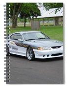 1995 Clarion Mustang Gt Herr Spiral Notebook