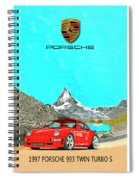 1997 Porsche 993 Twin Turbo R  Spiral Notebook