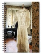 19th Century Wedding Dress Spiral Notebook