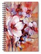 1almonds Blossom  13 Spiral Notebook