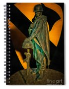 1st Cav History - Respect From Another Trooper To Another - Oil Spiral Notebook