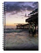 1st Dawn Cocoa Pier Spiral Notebook