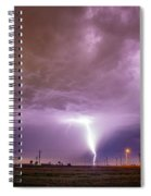 1st Severe Night Tboomers Of 2018 016 Spiral Notebook