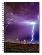 1st Severe Night Tboomers Of 2018 017 Spiral Notebook