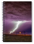 1st Severe Night Tboomers Of 2018 018 Spiral Notebook