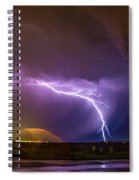 1st Severe Night Tboomers Of 2018 022 Spiral Notebook