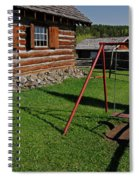108 Mile House British Columbia Spiral Notebook