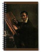 1824 Vasily Tropinin Spiral Notebook