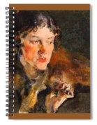 1920- Nikolay Feshin Spiral Notebook