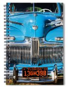 1942 Ford Super Deluxe Sedan Painted  Spiral Notebook