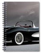 '56 Corvette Convertible Spiral Notebook
