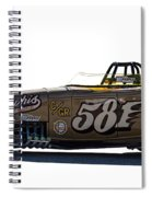 581 Bonneville Race Car Spiral Notebook