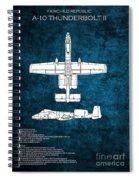 A-10 Thunderbolt II  Spiral Notebook