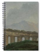 A Colonnade In Ruins Spiral Notebook