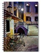 An Evening In Venice Spiral Notebook