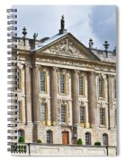 A View Of Chatsworth House, Great Britain Spiral Notebook