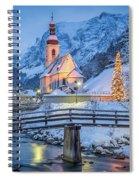 A Winter's Dream Spiral Notebook