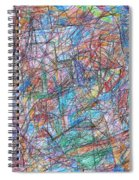 Abstract 10 Spiral Notebook