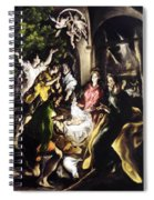 Adoration Of The Shepherds Spiral Notebook
