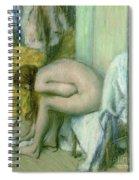 After The Bath Spiral Notebook