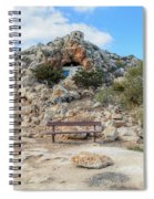 Agioi Saranta Cave Church - Cyprus Spiral Notebook