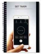 Alarm Clock Spiral Notebook